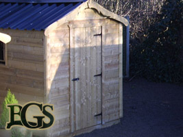 Timber Garden Sheds Ireland